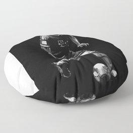 Bastian Schweinsteiger on Black and White Color Floor Pillow