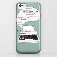 PERKS OF BEING A WALLFLOWER. iPhone 5c Slim Case