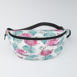 Waterlily buds Fanny Pack