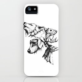 Moony Wormtail Padfoot Prongs iPhone Case