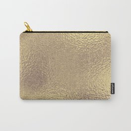 Simply Metallic in Antique Gold Carry-All Pouch