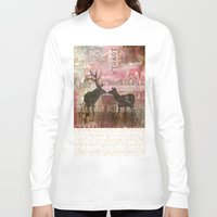 hello beautiful Long Sleeve T-shirts featuring Hello Beautiful by Sarah Shines -ART