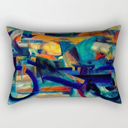 Café Racer Rectangular Pillow