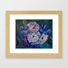 Surreal Poppies Framed Art Print