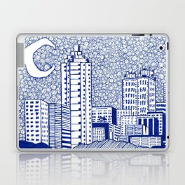 A Starry Night In Atlanta Laptop & iPad Skin