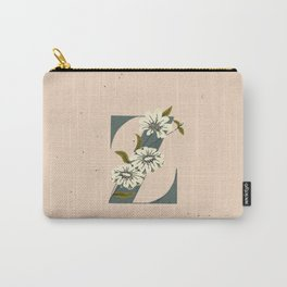 Z for Zinnia Carry-All Pouch