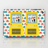 mulder iPad Cases featuring I want to believe ... again!  by Alessandro Aru