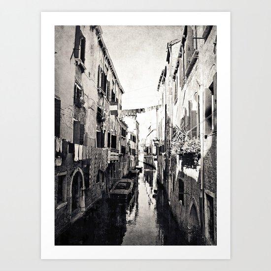 vivacità {b&w Art Print