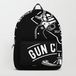 Gun Control Backpack