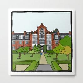 Cambridge Struggles: Newnham College Metal Print
