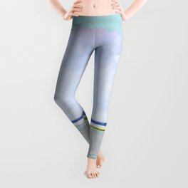 Bay View, Long Beach Island, New Jersey Leggings