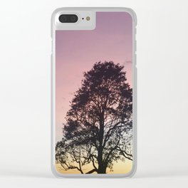 Pastel Sky #3 Clear iPhone Case