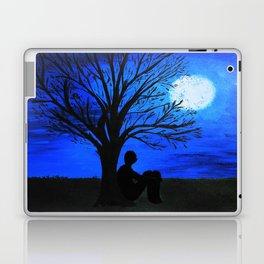 Peaceful night Laptop & iPad Skin
