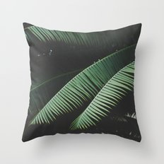 Night in the Tropics Throw Pillow