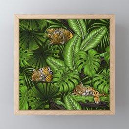 Jungle kitties  Framed Mini Art Print