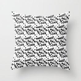 Famous Boy Names Throw Pillow