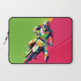 Motocross Top-notch WPAP #2 Laptop Sleeve