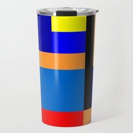 Mondrian #35 Travel Mug