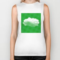 cloud Biker Tanks featuring Cloud by Mr and Mrs Quirynen