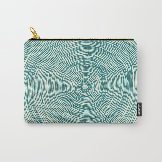 BLACK HOLE GREEN Carry-All Pouch