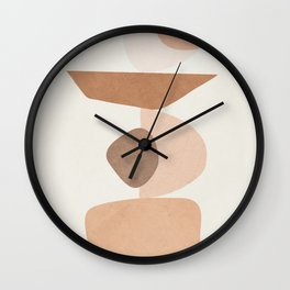 Balancing Elements II Wall Clock
