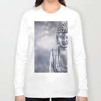 buddha Long Sleeve T-shirts featuring Buddha by LebensART Photography