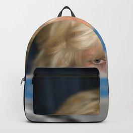 Girl With Umbrella Backpack
