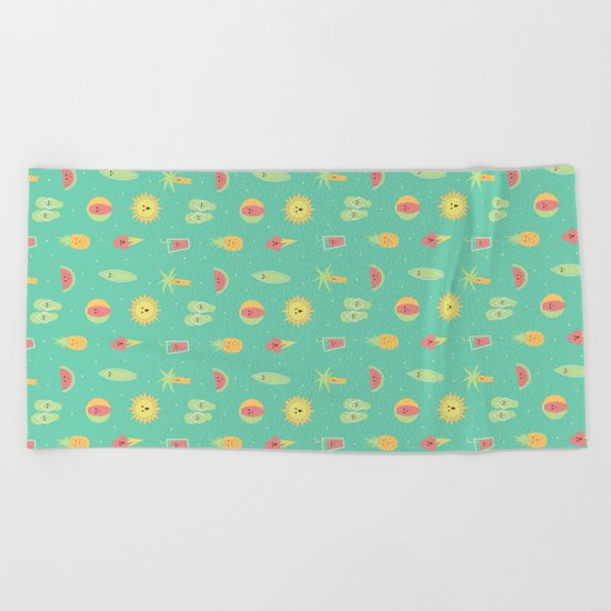 Summer Fun Beach Towel