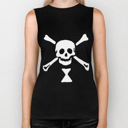 Emanuel Wynne Pirate Flag Jolly Roger Biker Tank