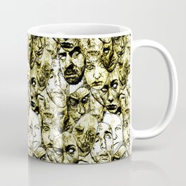Face Stitches Coffee Mug