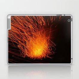 Golden Firework Laptop & iPad Skin