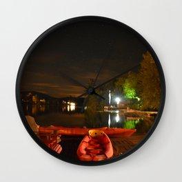 Lake Placid ADK Wall Clock