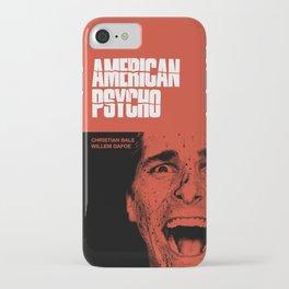 Psycho American iPhone Case