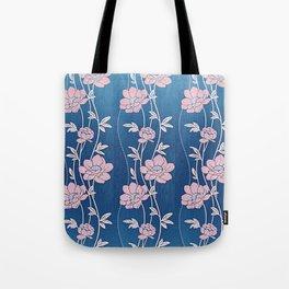 Rose Quartz Flower Garlands Tote Bag