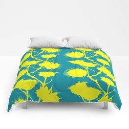 Minimal Flowers Comforters