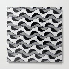 Kale 18 winter waves Metal Print