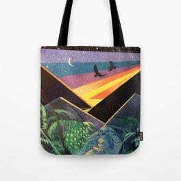 Waipio Valley Abstraction Tote Bag