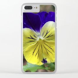 Vivid Viola Clear iPhone Case