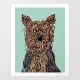 Trixie Art Print