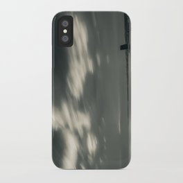 Lisbon in Black and White iPhone Case