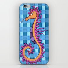 hippocampe 2x iPhone & iPod Skin