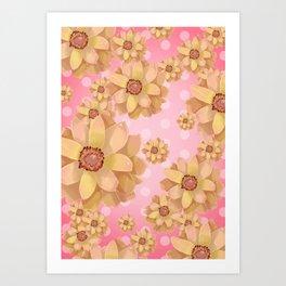 """flowers3"" Art Print"