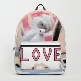 Love and birds Backpack