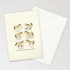Horse Shoes Stationery Cards