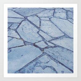 Slates Art Print