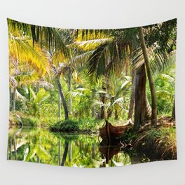 Green Oasis Wall Tapestry