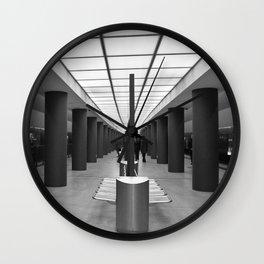 Tube Station Brandenburg Gate in Berlin Wall Clock