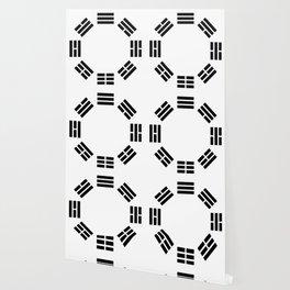 Black Hexagon I ching Feng Philosophy Wallpaper