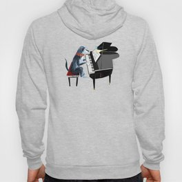 Piano lesson ( Doggy Art ) Hoody