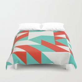 Geometric Retro #5 Duvet Cover